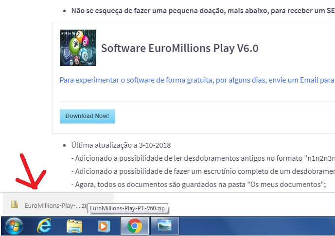Download EuroMillions Play Software - etapa 2